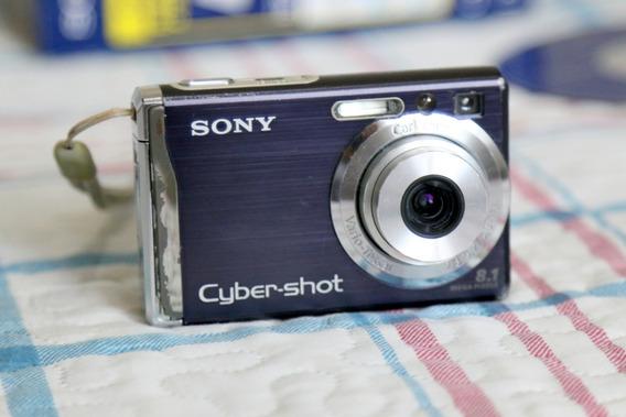 Câmera Digital Sony Cyber-shot Dsc-w90 8.1mp (com Defeito)
