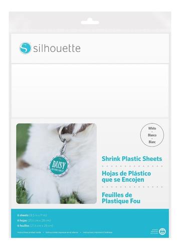 Imagen 1 de 8 de Shrink Plastic Silhouette White Blanco Imprimible