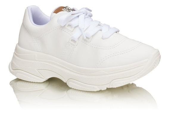 Tênis Sneaker Feminino Chunky Bebecê - 1319.401