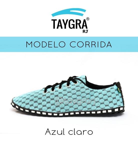 Tênis Taygra Modelo Corrida Comfort Azul Claro