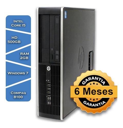 Imagem 1 de 3 de Pc Hp Compaq8100 Intel Core I5 650º Hd500 2gb Ram Win7 Torre