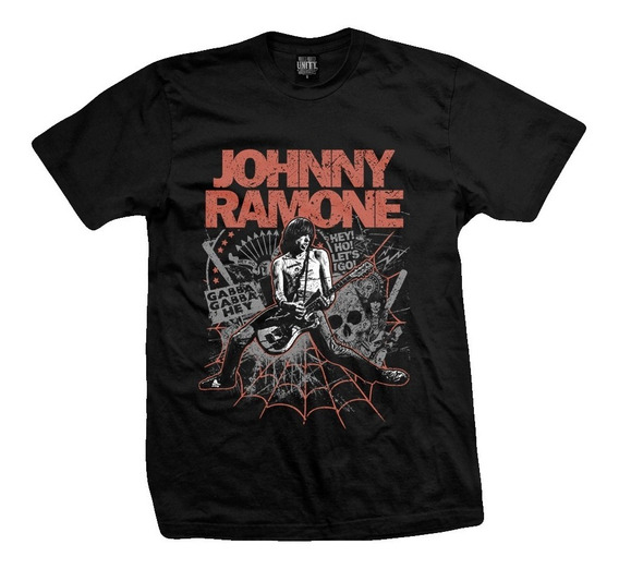 Remera Johnny Ramone - Chainsaw