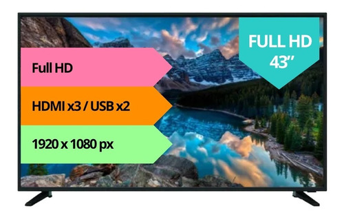 Smart Tv 43 Goldstar Full Hd Netflix Garantia Full