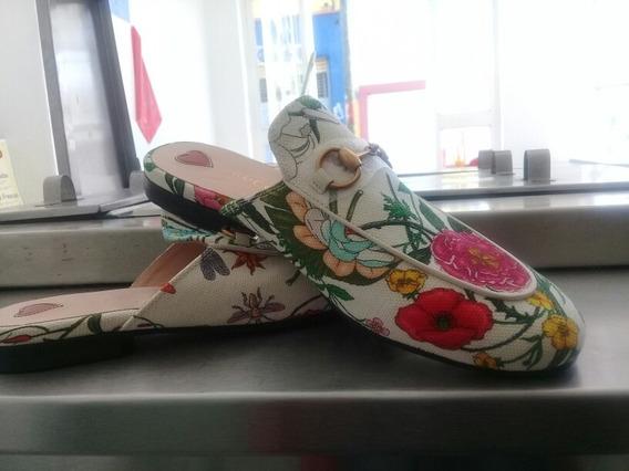 Zapato Floral Gucci Originales.