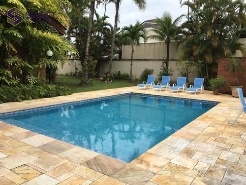 Casa Com 4 Dormitórios À Venda, 420 M² Por R$ 2.500.000,00 - Acapulco - Guarujá/sp - Ca0055