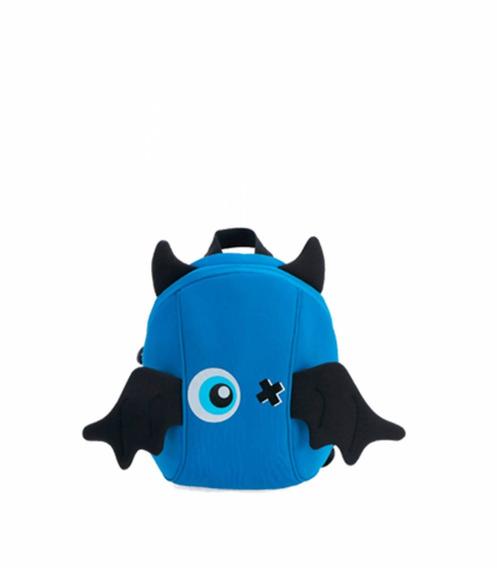Mochila Infantil M & M Monstros - Azul.