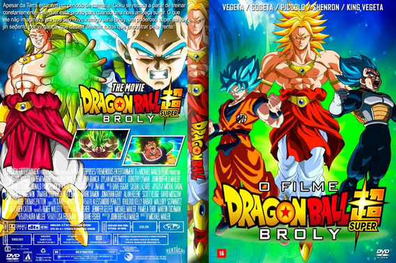 Dvd Filme - Dragon Ball Super Broly (2019)