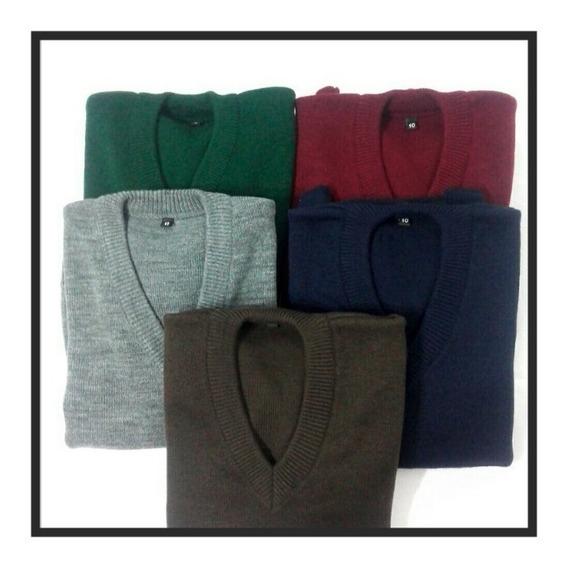 Sweaters Colegiales X10 Unidades Talles Del 4 Al 18
