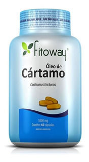 Óleo De Cártamo 1000mg - Fitoway - 60 Cápsulas
