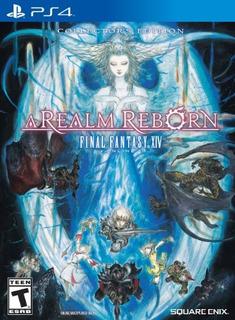 Final Fantasy Xiv A Realm Reborn Edición De Coleccionista P