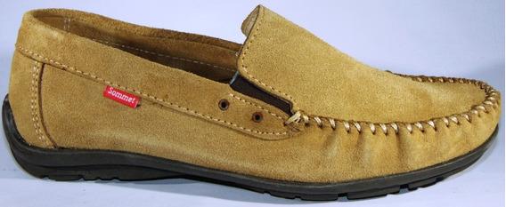 Zapatos Cuero Original 100 % Elástico Cosidos Art 550