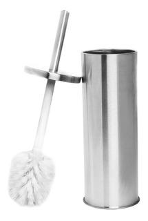 Cepillo Limpieza Inodoro Con Estuche Acero Inoxidable Estil0