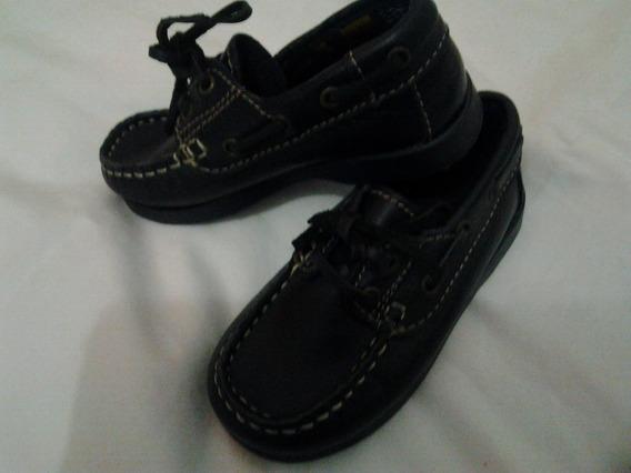 Sapato Inf. Em Couro Tam 22