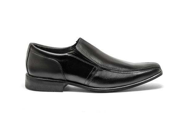 Sapato Masculino Linha Italiana Dinapole De Couro Jb 170
