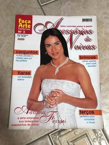 Revista Acessórios De Noivas 3 Tiaras Brincos Terços