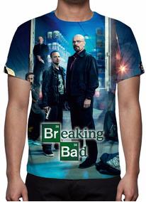 Camiseta Tv Série Breaking Bad - Mod 02