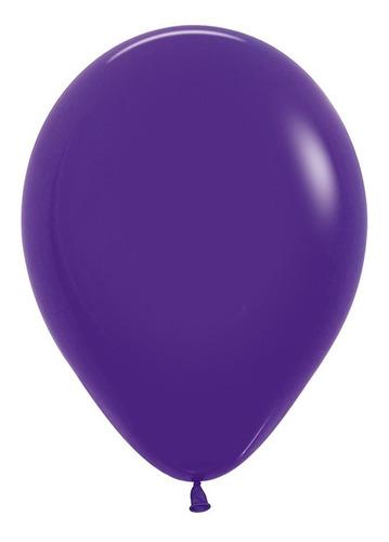 Globo R-9 Fashion Violeta  X 50 -sempertex