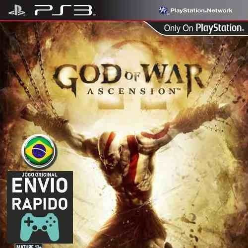God Of War Ascension - Jogos Ps3 Original