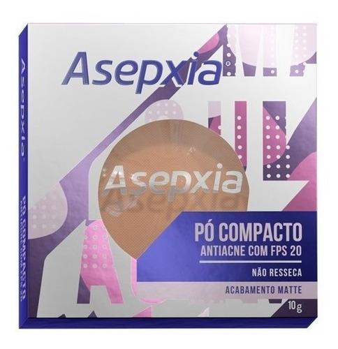 Imagem 1 de 1 de Asepxia Pó Compacto Antiacne Fps20 Bege Médio  - 10g