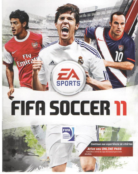 Manual De Instrucoes Jogo Fifa Soccer 11 /play 3