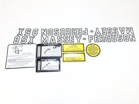 Decalque Faixa Adesiva Trator Massey Ferguson 85x
