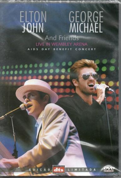 Dvd Elton John George Michael - And Frieds