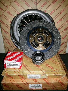 Kit Clutch Croche Embrague Toyota Meru Hilux 2.7 Hiace 2.7