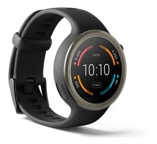 Smartwatch Moto 360 Sport Relógio Novo Promoção Dia Dos Pais