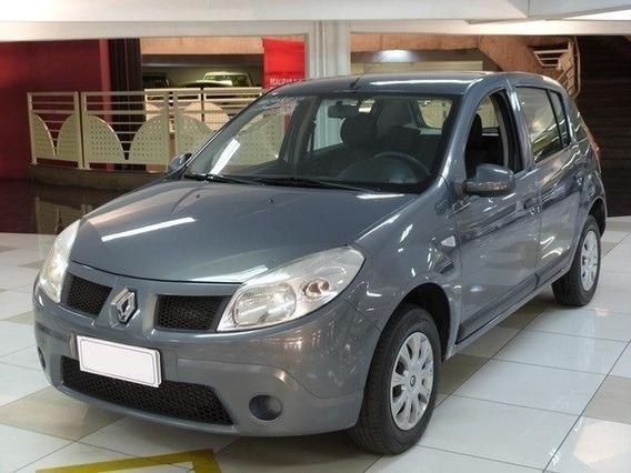 Renault Sandero Expression 1.0 Cinza 16v Flex 4p Manual 2012