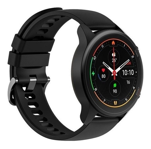 "Imagen 1 de 5 de Xiaomi Mi Watch 1.39"" caja de  polímero reforzado con fibra de vidrio  black malla  black de  tpu XMWTCL02"