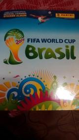 Album Da Copa Do Mundo De 2014 Incompleto (faltam 62 Cromos)