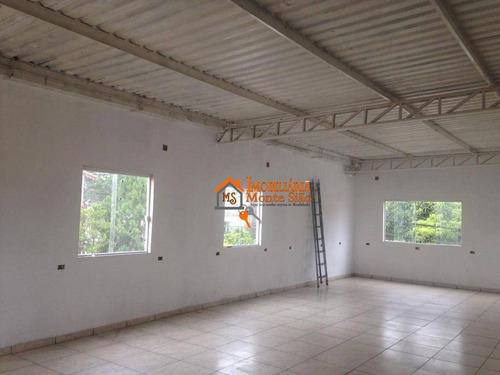 Imagem 1 de 5 de Salão Para Alugar, 100 M² Por R$ 2.200,00/mês - Jardim Adriana - Guarulhos/sp - Sl0031