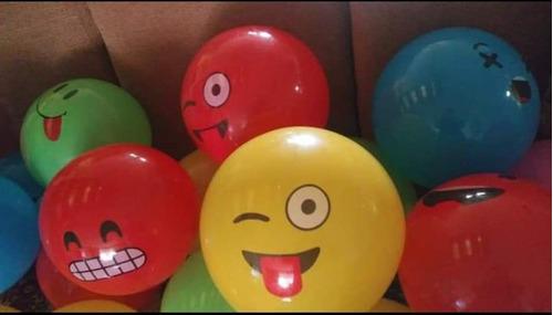 30 Pelotas Emoji 30 Cms