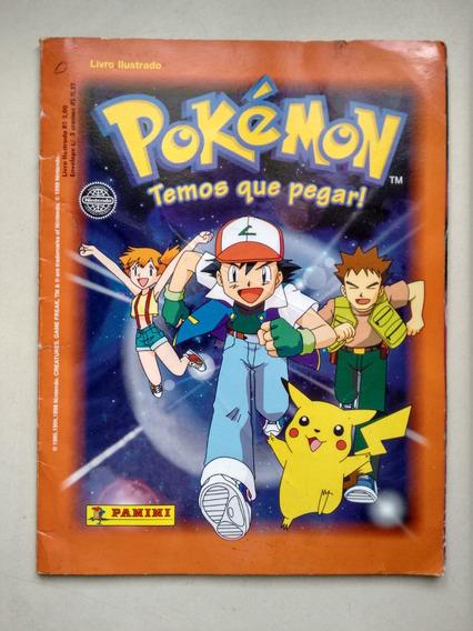 Álbum De Figurinhas Pokémon Temos Que Pegar Incompleto C222