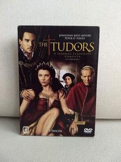 Dvd Box Seriado Série The Tudors Segunda Temporada 3 Discos