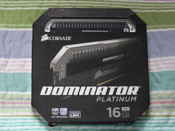 Corsair Dominator Platinum 16gb (2x8) Ddr4 2400mhz C10