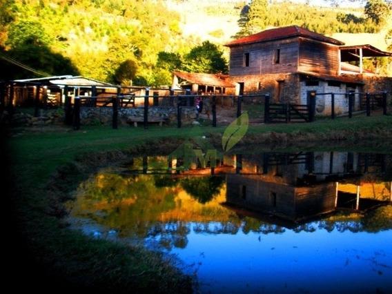 Sítio Histórico Época Do Café Em Joanópolis 18 Alqueires - 587