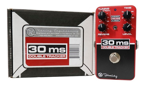 Keeley Engineering Pedal 30ms Double Tracker Reverb Delay