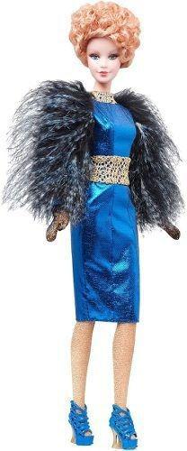 Imagem 1 de 8 de Boneca Barbie Collector Effie Trinket Filme Jogos Vorazes