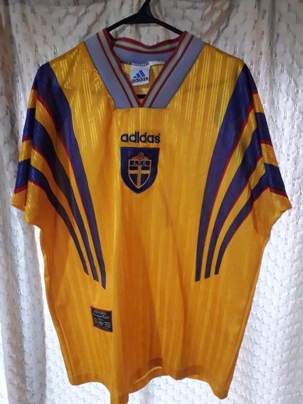 Camiseta Suecia adidas Euro 1996
