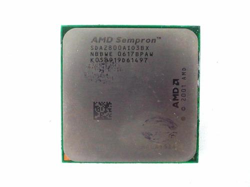 Imagem 1 de 2 de Processador Desktop Amd Sempron 2800+ 1.6ghz Sda2800ai03bx