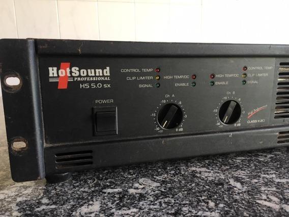 Potência Hotsound Hs 5.0 Sx