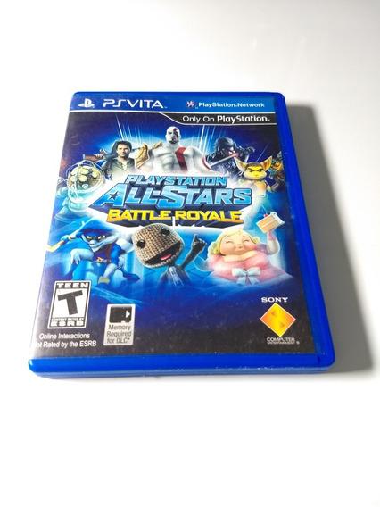 Playstation All Stars Battle Royale - Psvita - Impecável !!!