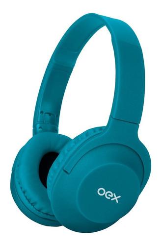 Fone De Ouvido Bluetooth Oex Flow Hs307 - Turqueza