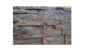 2 Moldes Pared Piedra Fachaleta Fachada Para Yeso Concreto
