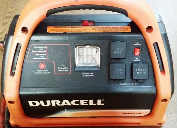 Jumper Auxiliar Bateria 12 V. Y 110v. Duracell