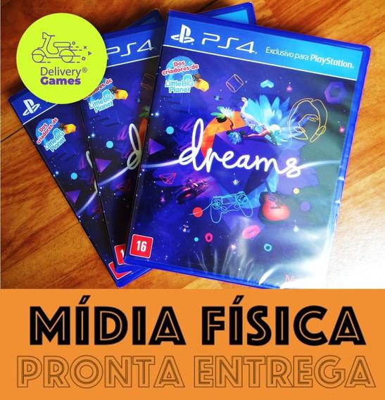 Dreams Ps4 Midia Física Lacrado Novo Original C Nota Fiscal