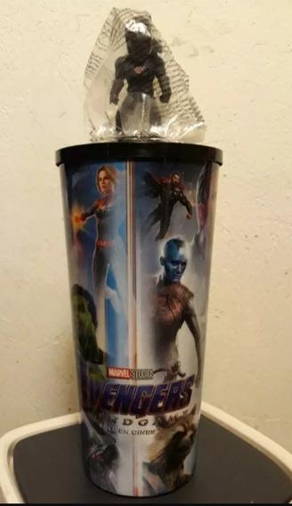 Vaso Avengers Endgame Cinemex War Machine