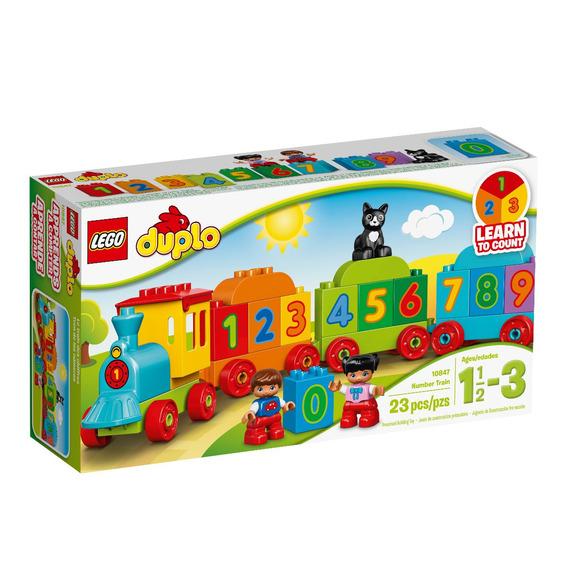 Tren De Los Números Lego - 10847