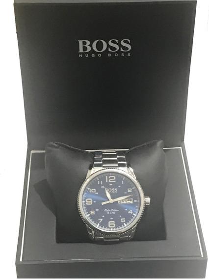 Relógio Hugo Boss Masculino Original De Aço Inoxidável